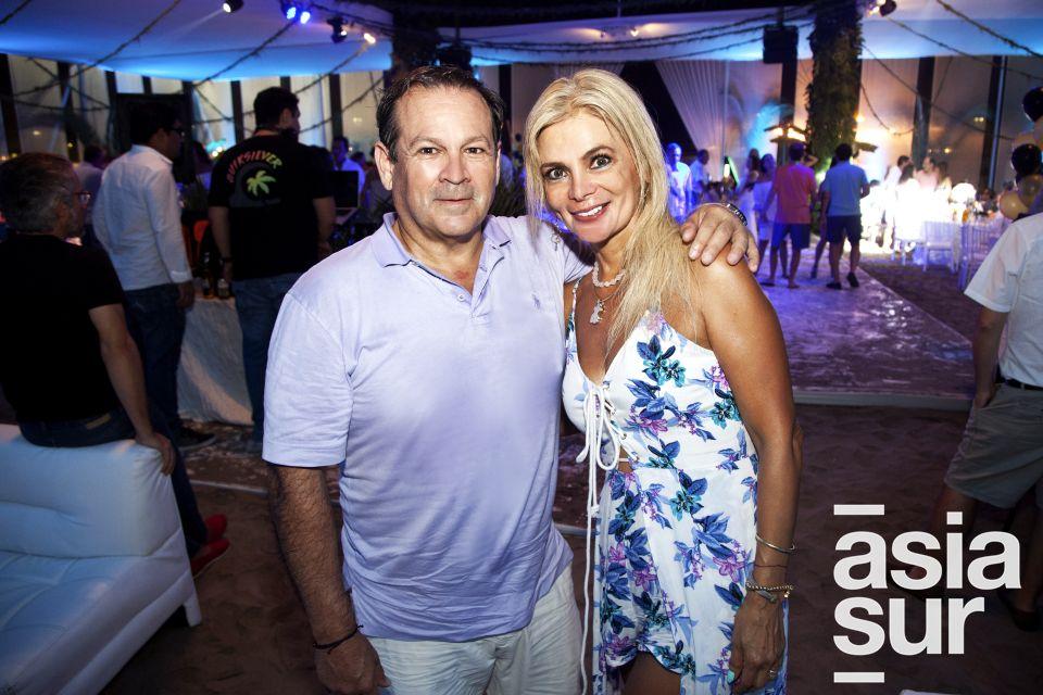 Paulo y Gina Portillo.