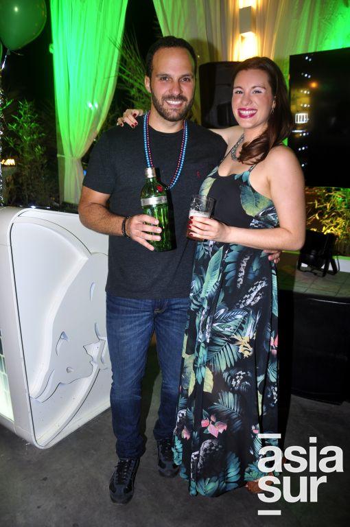 Raúl Hanza y Stephanie Jordan.