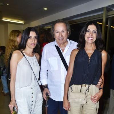 Samia Mitre, Armando Arana y Margot Zaidan.