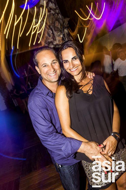 Samir Giha y Tamara Casis en Amadeus, Boulevard de Asia.