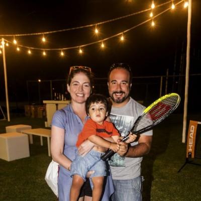 Sandra Marsano, Salvador La Rosa y Javier La Rosa.