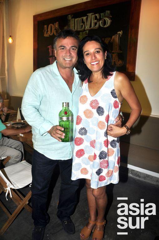 Santiago y Katia Reyna.