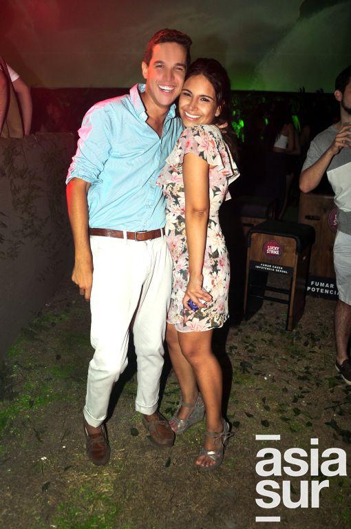 Stefano Franchini y Karen Bisbal.