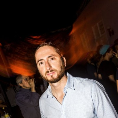 Teo Campillo en la presentación de los proyectos musicales en el MATE, Barranco.