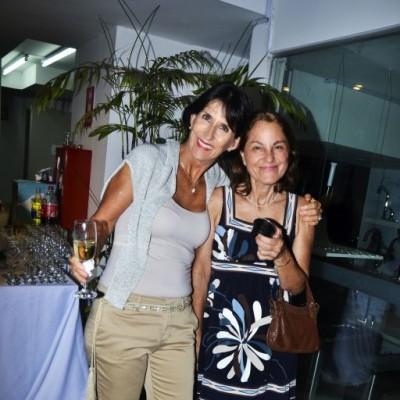 Tete Portugal e Isabel Chirinos.