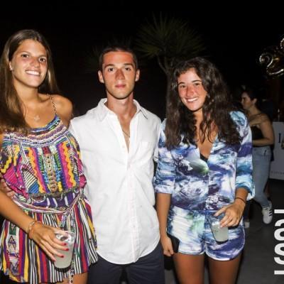 Thais Calvo Perez, Fabrizio Bassino y Aldana Escalante.