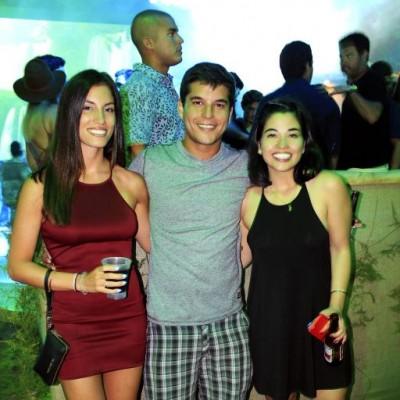 Thalia Zimmerman, Joaquin Delgado y Sofia Chang.