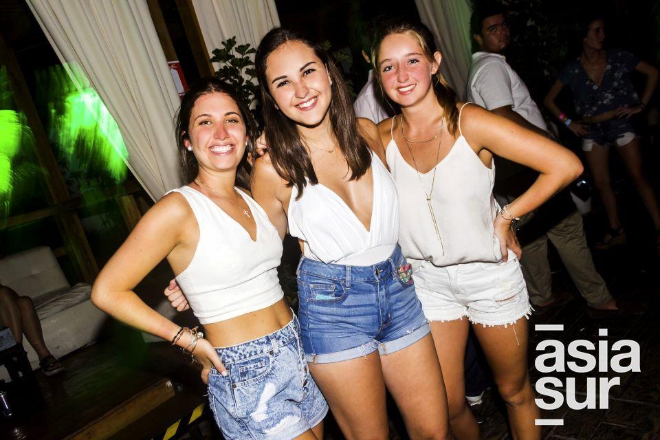 Triana del Rio, Alessia Albertini y Nicole Hartley en Joia, Boulevard de Asia.