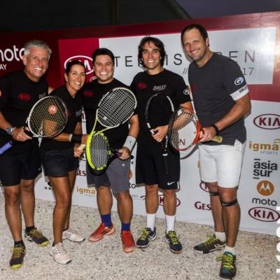 Victor Hatchwell, Virginia Lolas, Jeanpierre Mourre, Raul Jimenez, Diego Lopez.