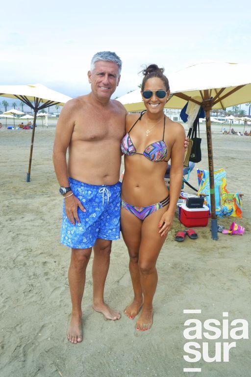 Victor y Mara Hatchwell en Palmas.