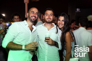 Walid Barham, Bruno Gayoso, Nicole Barham.