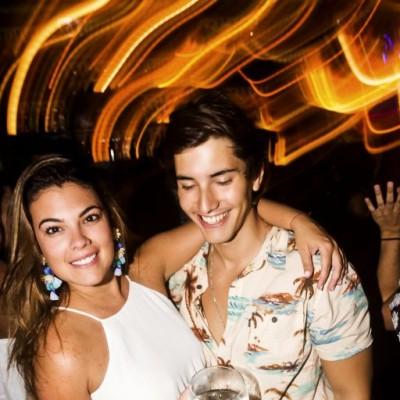 Adriana del Castillo y Rodrigo Del Risco  en CM, Boulevard de Asia.