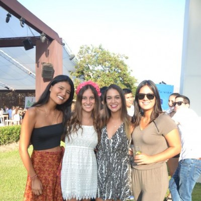 Alejandra Perez, Lucia Haito, Camila Boero y Maria Jose Domenack.