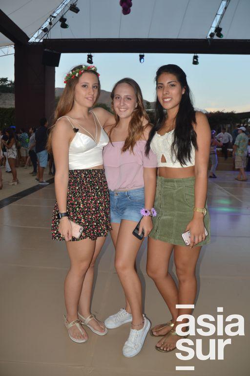 Alessia Crestani, Alexandra Rivero y Karina Bonolo.