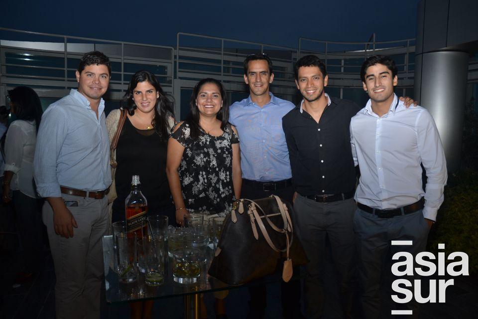 Alfonso Vigil, Alexandra Lopez- Vecino, Nelly Vásquez, Guillermo Zubiate, Alfredo Escalante y Gonzalo Arbulu.