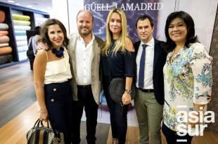 Ana Vega Soyer, Luis Ortiz de Zevallos, Marcela Mujica, Carlos Hernandez y Elizabeth Chang.