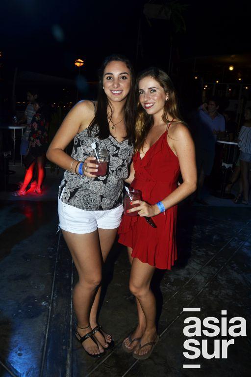 Ariana Lira y Nicole Ger.