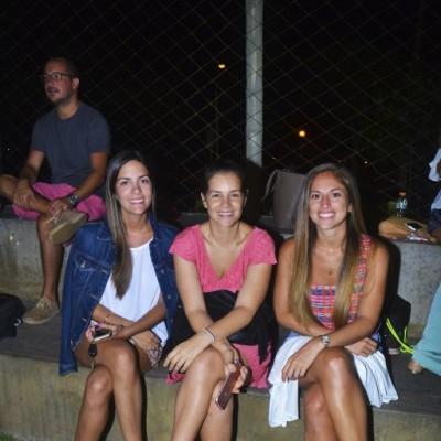 Beatriz Chialchia, Maria Gonzales Vigil y Daniela Vizcarra.