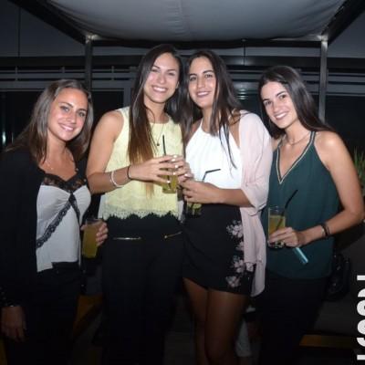 Camila Mariani, Alessandra Zavala, Alessandra Rivera y Carolina Valle.