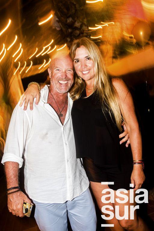 Carl y Veronica Rooth en Amadeus, Boulevard de Asia.