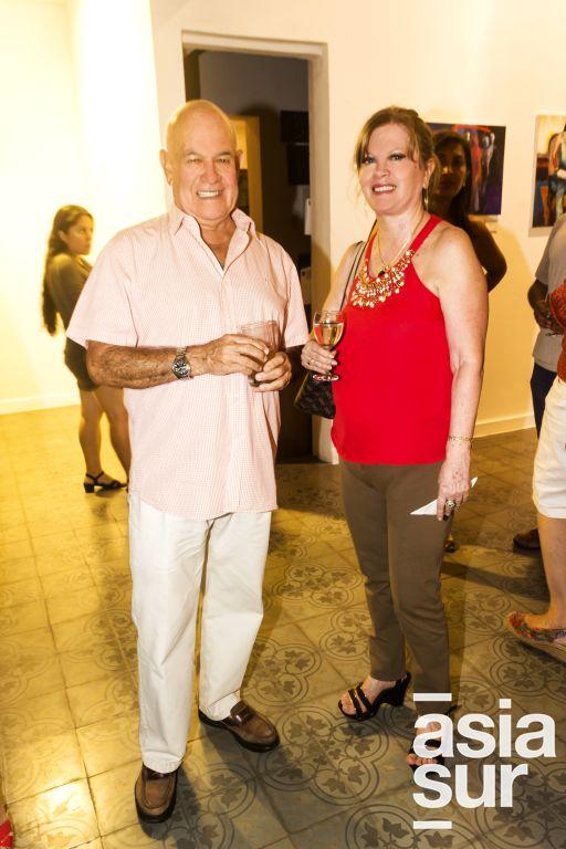 Carlos Garcia y Rosi Olazabal.