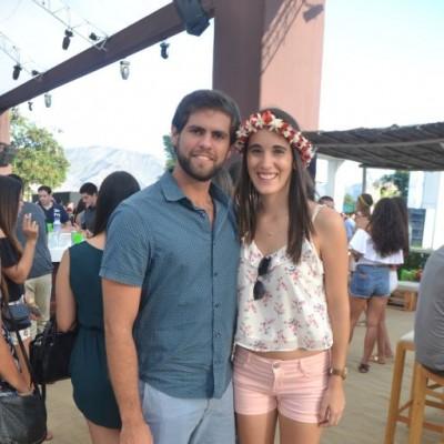 Carlos Olivares y Camila Seminario.
