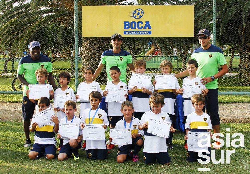 Categoría 08-09 Boca Juniors Cayma.