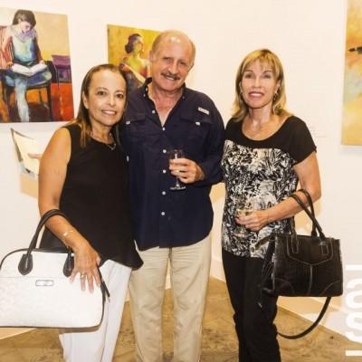 Charo Alvarez del Villar, Fernando Barua y Joyce Newton.