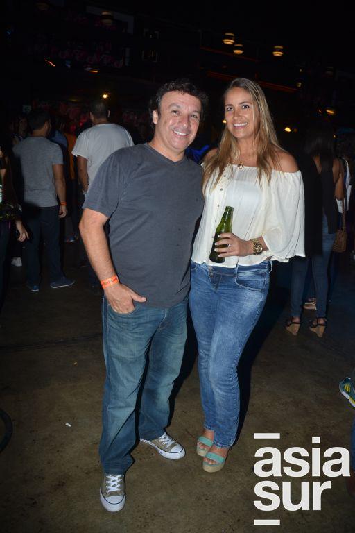 Chubi Zani e Ivette Vega.