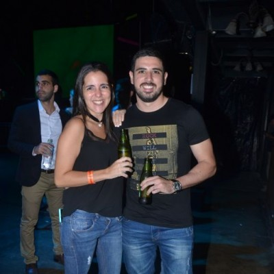Claudia Rospigliosi y Walter Ardito.
