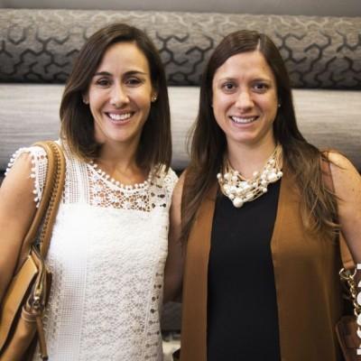 Claudia Ugarteche y Luciana Tola.