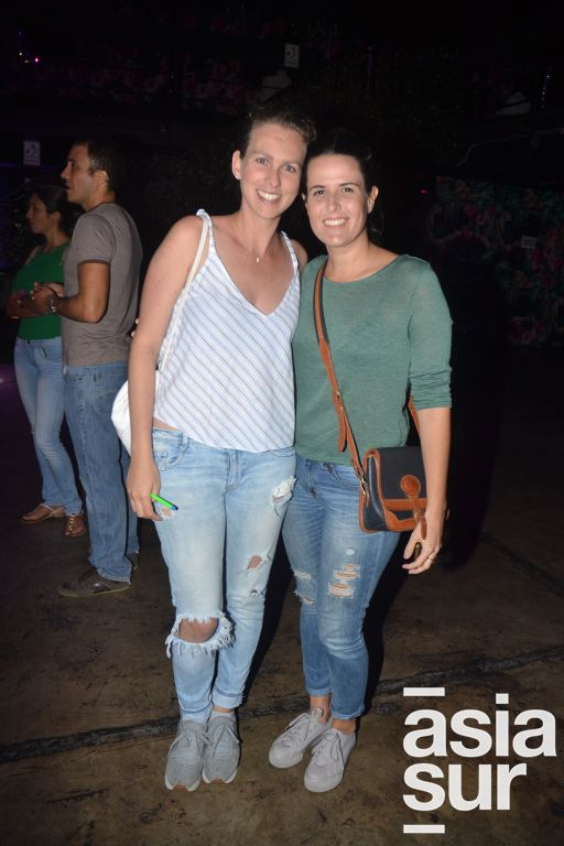 Diana Seminario y Gabriela Zazzali.