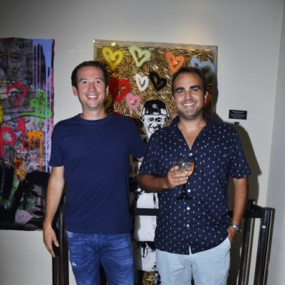 Diego Nicolini y Chino Ruiz.
