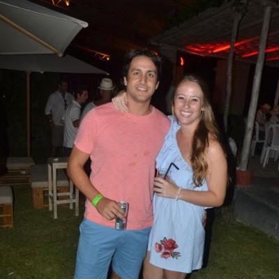 Diego Palacio y Natalia Richter.