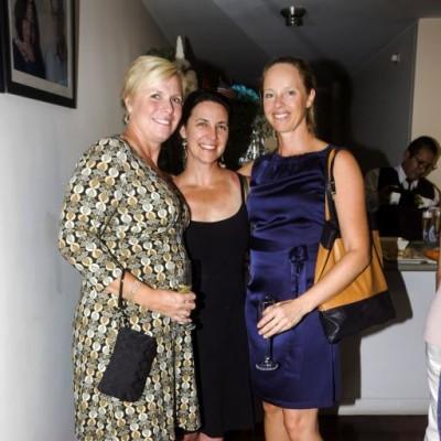 Erin Gerba, Keena Tracy y Helene Horberg.