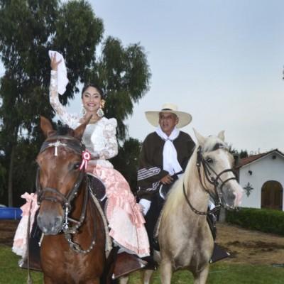Eva Orihuela y Freddy Salas.