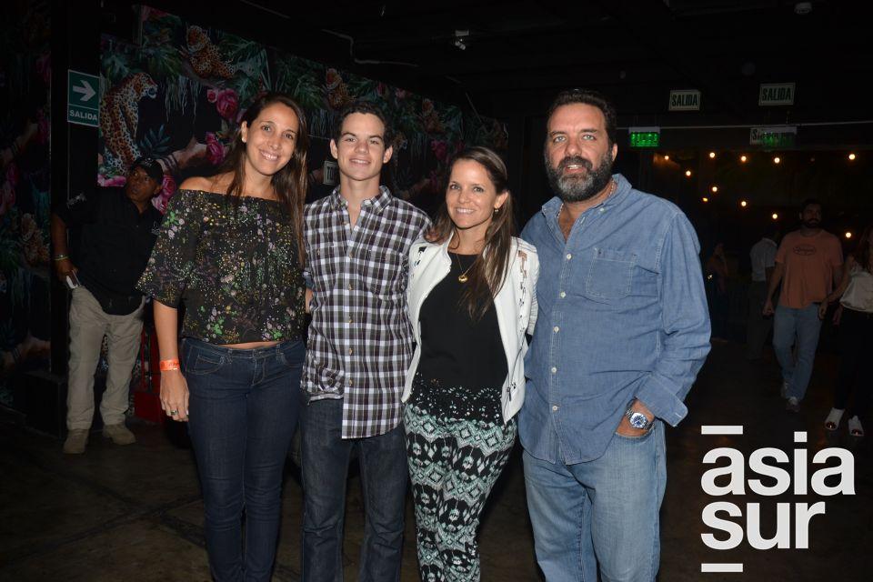 Fiorella Doig, Carlos Yaksetig, Luciana Calle y Gonzalo Bussallev.