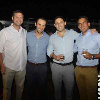 Francisco Palacios, Martín Bedoya, Jorge Ruiz y Ricardo Cortez.