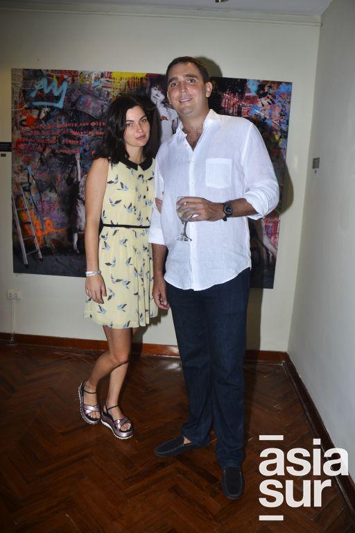 Isabella y Ricardo Ghibellini.