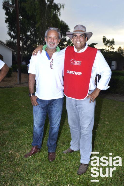 Jorge Santin y Jair Yesquen.
