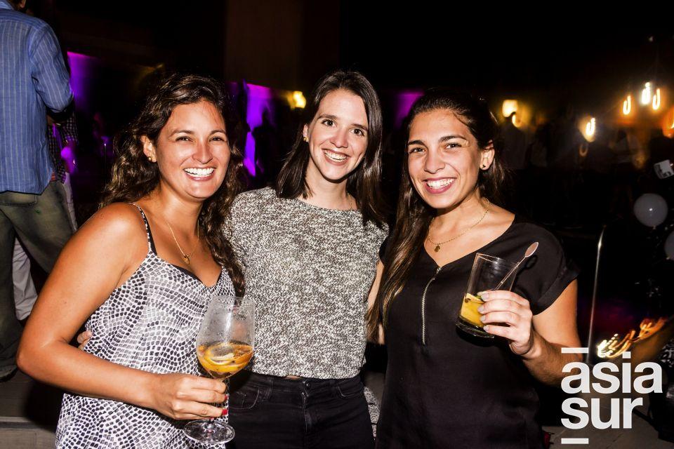 Karem Santoyo, Varena Christen y Alejandra Ascenzo en el After Office de la marca Keralia y Kiya en el Sonesta.