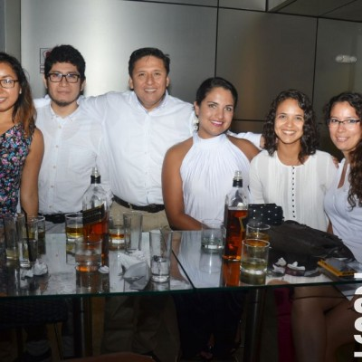 Karen Gonzales, José Obregón de la Rosa, José Escandón, María Pía Navarro, Melina Manzaranes y Eva Oballe.