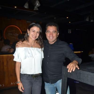 Karen Ruiz y William Jimenez.