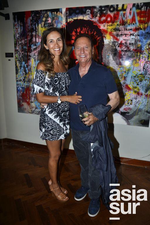 Karin San Roman y Manolo Vega.