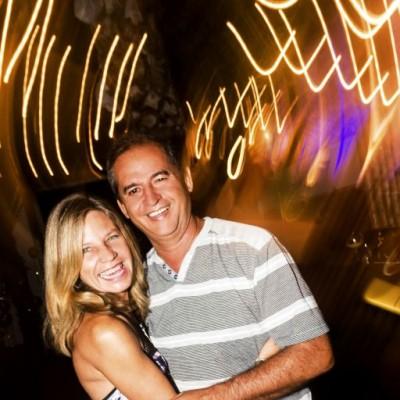 Karina Castillo y Jorge Luis Garcia en Amadeus, Boulevard de Asia.