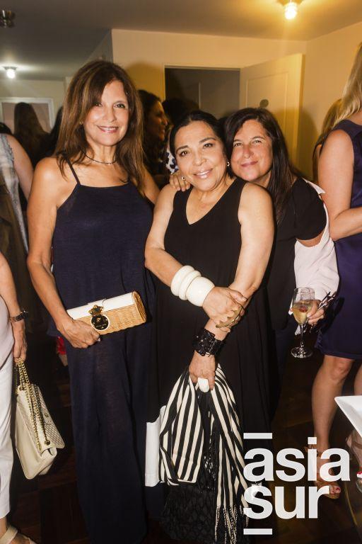 Lucy Barandiaran, Meche Correa y Delia Ackerman.