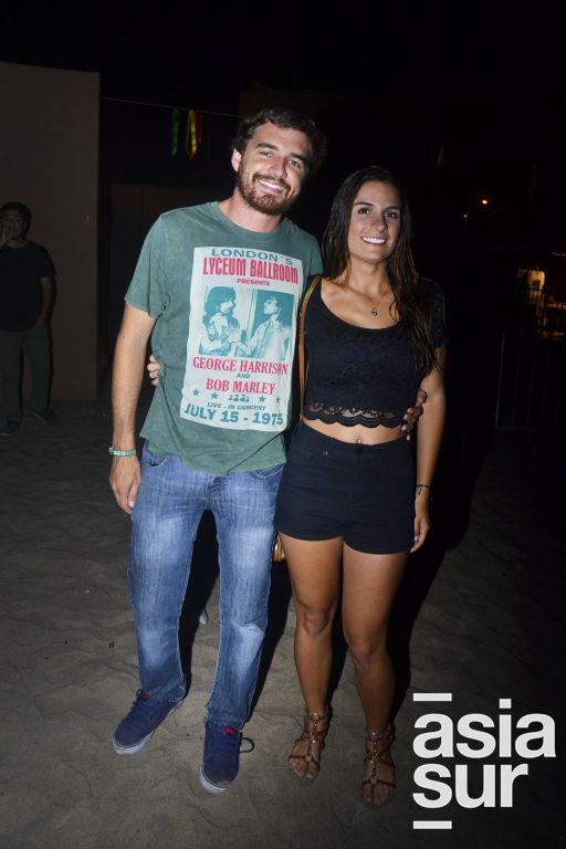 Luigi Paino y Chiarella Bencan.