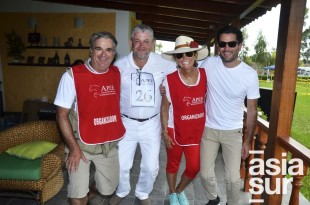 Luis Enrique Opazo, Jose Luis Chirinos, Maria Teresa Guzinatti y Jose Ignacio de la Puente.