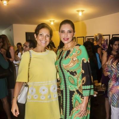 Magaly Simon y Monica Tambini.