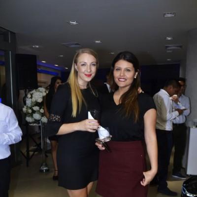Maria Bollerup y Yanira Gamarra.